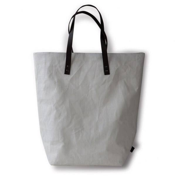 Shopping Bag color Bianco in 100% Lino
