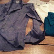 Camicia da uomo in lino - Baltico Perugia - 01