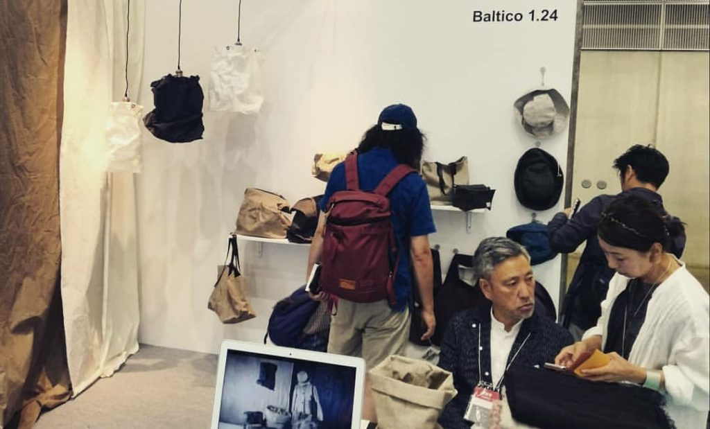 Baltico stand at INTERIOR LIFESTYLE TOKYO 2019